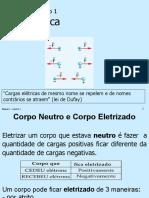 Física 2 - Cap. 1 - Eletrostática