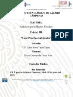 UNIDAD III. CASO PRACTICO INTEGRADOR