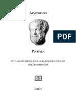 Arystoteles - Polityka