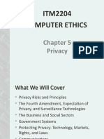 CHAPTER 5 PRIVACY