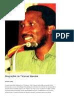 Biographie de Thomas Sankara