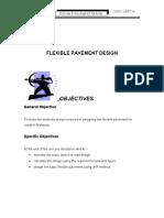 Unit 14 ( FLEXIBLE PAVEMENT DESIGN )
