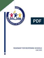 Roadmap to Reopening Schools