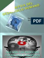 Cognitiva del desarrollo humano