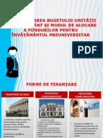 fundamerntare buget Management financiar