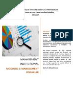 suport curs_Management  financiar
