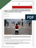 George Floyd _ _Cuando empiezan los saqueos, empiezan los disparos__ la historia detrás de la controvertida frase de Trump ante las protestas por la muerte de Floyd - BBC News Mundo.pdf