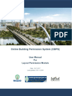 OBPS -layout Permission User manual-Version2.0
