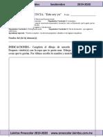 Septiembre - Ejercicios Imprimibles (2019-2020)