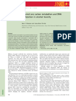 2014 - Kruman & Fowler - Impaires one carbon metabolism and DNa methylation in alcohol toxicity