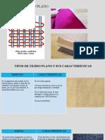 EXPOSICIÓN tipos de tejido plano..pptx