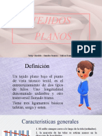 TEJIDOS PLANOS