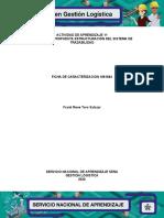 Evidencia_Propuesta  estructuracion del sistema de Trazabilidad Frank