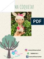 LLAMA COQUETA Claudia