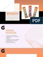 Marketing Plan DE GATORADE G2