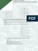 simulacro rectas parábolas funciones cuadráticas