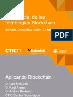 CTIC-Jornada23M AplicarBlckChn
