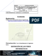 DEFINICIÓN DE LOS VIRUS INFORMATICOS 9º