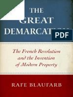 Rafe Blaufarb - The Great Demarcation
