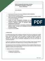 GUIA 1. SELECCIONAR PRIORIDADES DE INF.