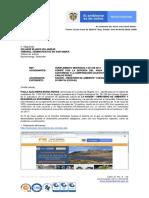 Informe actividades delimitación de Santurbán en Cuarentena
