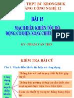 Mach Dieu Khien Toc Do Dong Co Dien Xoay Chieu Mot Pha