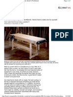 [Woodworking] Workbench - Woodworking Plans - Workbench - Popular Mechanics - Hard Maple.pdf
