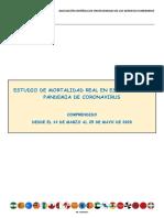 ESTUDIO DE MORTALIDAD REAL EN ESPAÑA POR LA PANDEMIA DE CORONAVIRUS