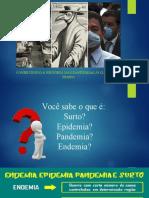 Pandemia e coléra