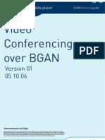Video Conferencing Over BGAN En