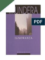 Kundera, Milan - Ignoranta v0.9 FRI