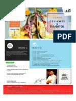 MODULO DE Ceviches y Tiraditos