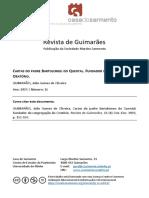 CARTAS  DO  PADRE BARTOLOMEU  DO QUENTAL.FUNDADOR  DA CONGREGAÇÃO  DO ORATÓRIO
