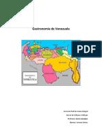 Ensayo Gastronomia Venezolana