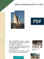 Embarcação pequeno porte a vela-acadêmico