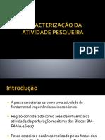 CARACTERIZAÇÃO DA ATIVIDADE PESQUEIRA