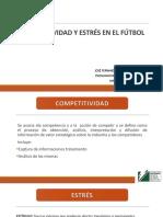 Presentación competitividad y estres en el fútbol