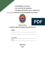 Caratula para presentación de informes 2020