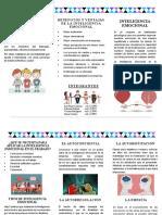 folleto Inteligencia Emocional