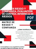 MATRIZ DE RIESGO Y CONFIANZA, EVAUACIÓN DE CONTROL INTERNO & DE RIESGOS