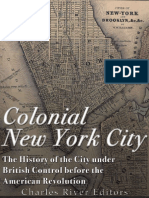 CHARLES RIVER - Colonial New York city The history of the city under British control before the american revolution.pdf