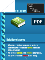 Now Think Relative Pronouns Powerpoint