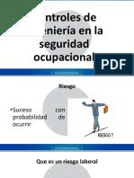 Controles de ingeniería en la seguridad ocupacional