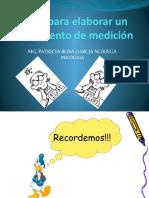 7. REACTIVOS DE UNA PRUEBA PSICOLÓGICA 2019
