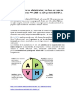 Descripción del proceso administrativo y sus fases