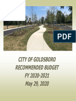 City Proposed Budget