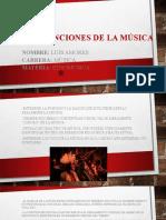 Usos y funciones de la música