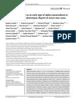 American Journal of Medical Genetics Part A Volume issue 2019 [doi 10.1002%2Fajmg.a.61273] Lehalle, Daphné; Colombo, Roberto; O'Grady, Michael; Héron, Bà -- Hearing impairment as an early sign of alpha 2