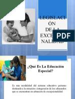 SESION 5 LEGISLACIÓN DE LA EXCEPCIONALIDAD.ppt