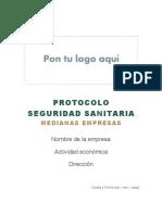 PSS - Medianas Empresas GUIA PARA ELABORAR EL PROTOCOLO DE SEGURIDAD (1)